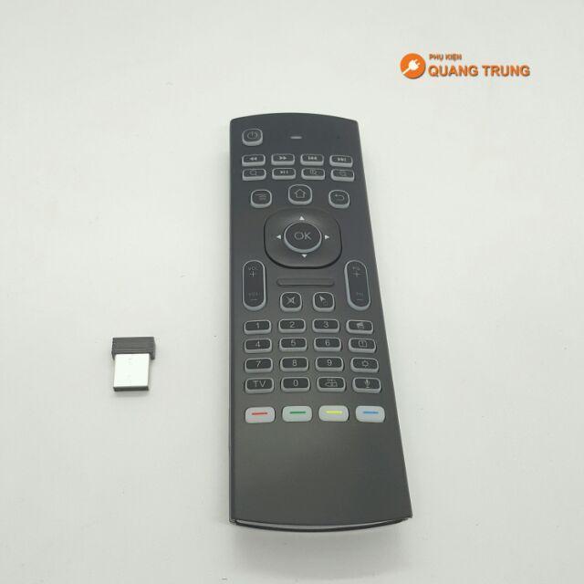 Giá Bán Chuột Bay Mx3 Pro Cho Tivi Box Thế Hẹ Mới Co Hỗ Trợ Điều Khiển Giọng Noi Co Mic Oem Nguyên