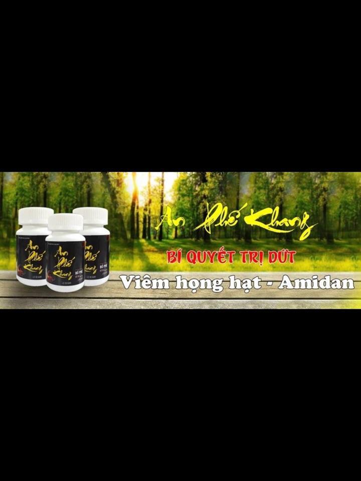 An Phế Khang-Viêm họng hạt, Amidan