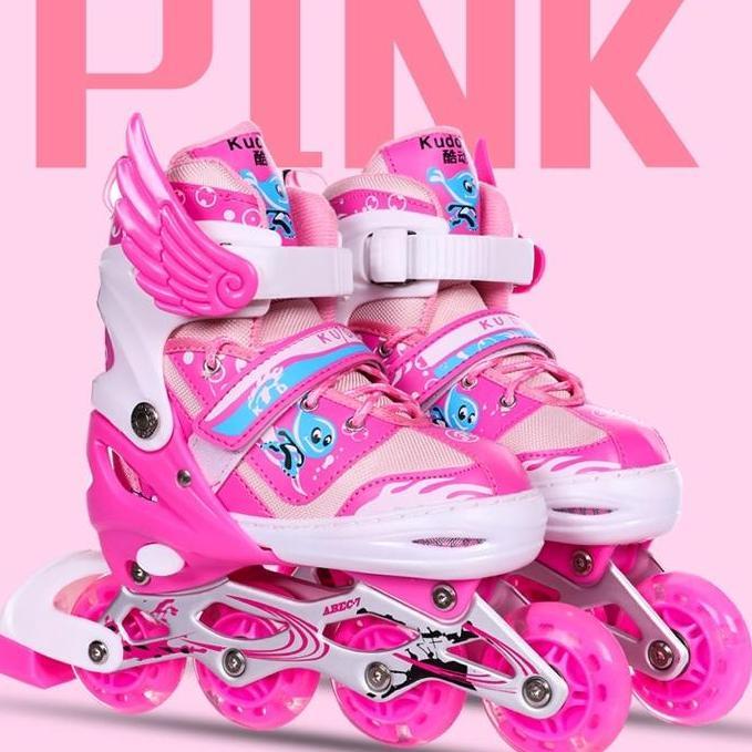 giầy trượt patin phát sáng siêu đẹp,,, tặng full bộ bảo hiểm