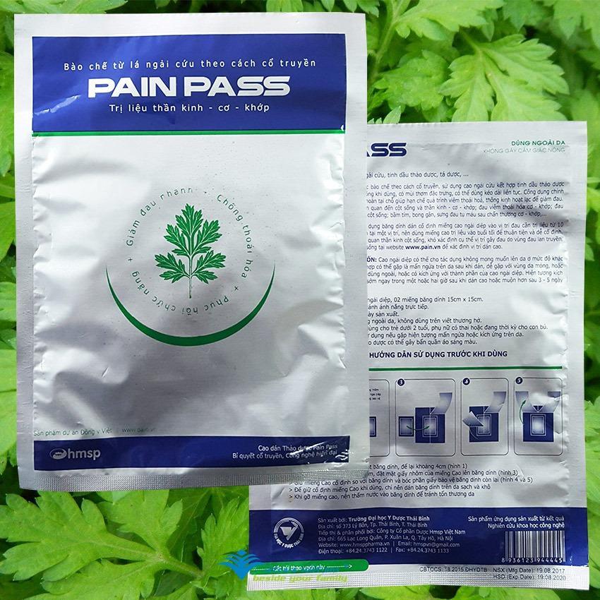 Hình ảnh Miếng dán thảo dược chống đau Pain Pass