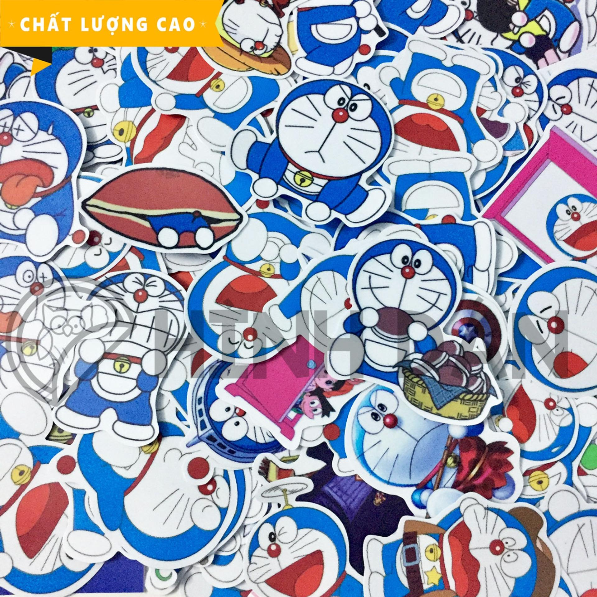 Hình ảnh Bộ Sticker Chủ Đề Doraemon (2018) Hình Dán Decal Chất Lượng Cao Chống Nước Trang Trí Va Li, Xe, Laptop, Nón Bảo Hiểm, Máy Tính, Tủ Quần Áo