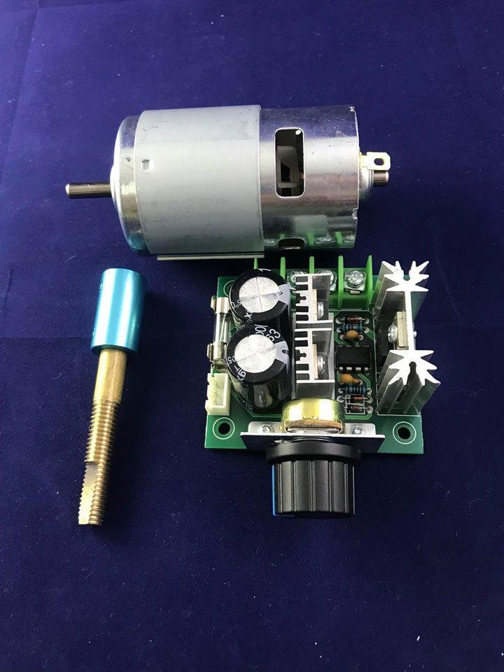 Hình ảnh Combo chế quạt Motor 775