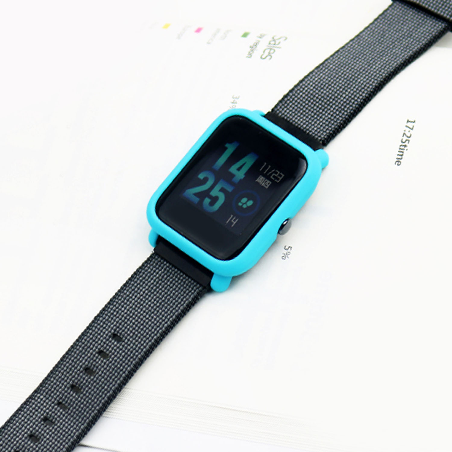 Lightweight Slim Smart Watch Protector Protective Frame Case Cover Xiaomi Amazfit Bip Protect Shell Easy To Install While Not Fall Off And Environmental Friendly Specification Material Pc Only Is