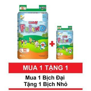(mua 1 bịch tặng 5 miếng) Bỉm Goon friend quần M58 L48 Xl 42 xxl34 thumbnail