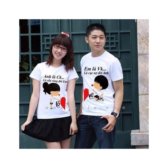 Hình ảnh áo đôi tình yêu