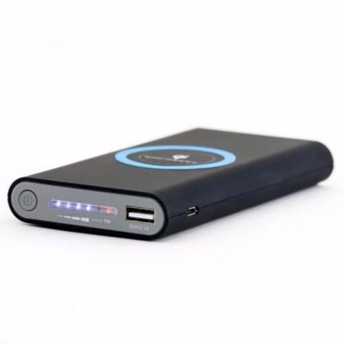 Hình ảnh Pin sạc dự phòng G01 TH 10000MAH (Trắng) TÍCH HỢP SẠC NHANH KHÔNG DÂY cho các dòng smartphone Iphone 8, iphone X, samsung Note8