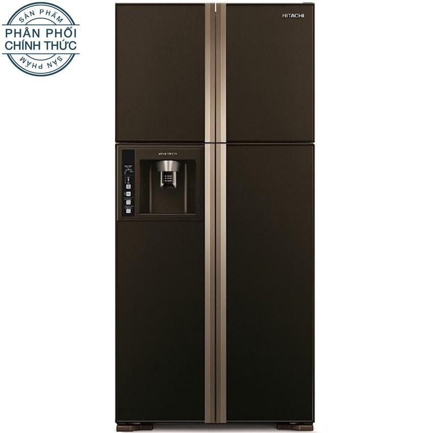 Bán Tủ Lạnh Hitachi R W660Pgv3 Gbw 540L 540L 4 Cửa Nau Có Thương Hiệu Rẻ