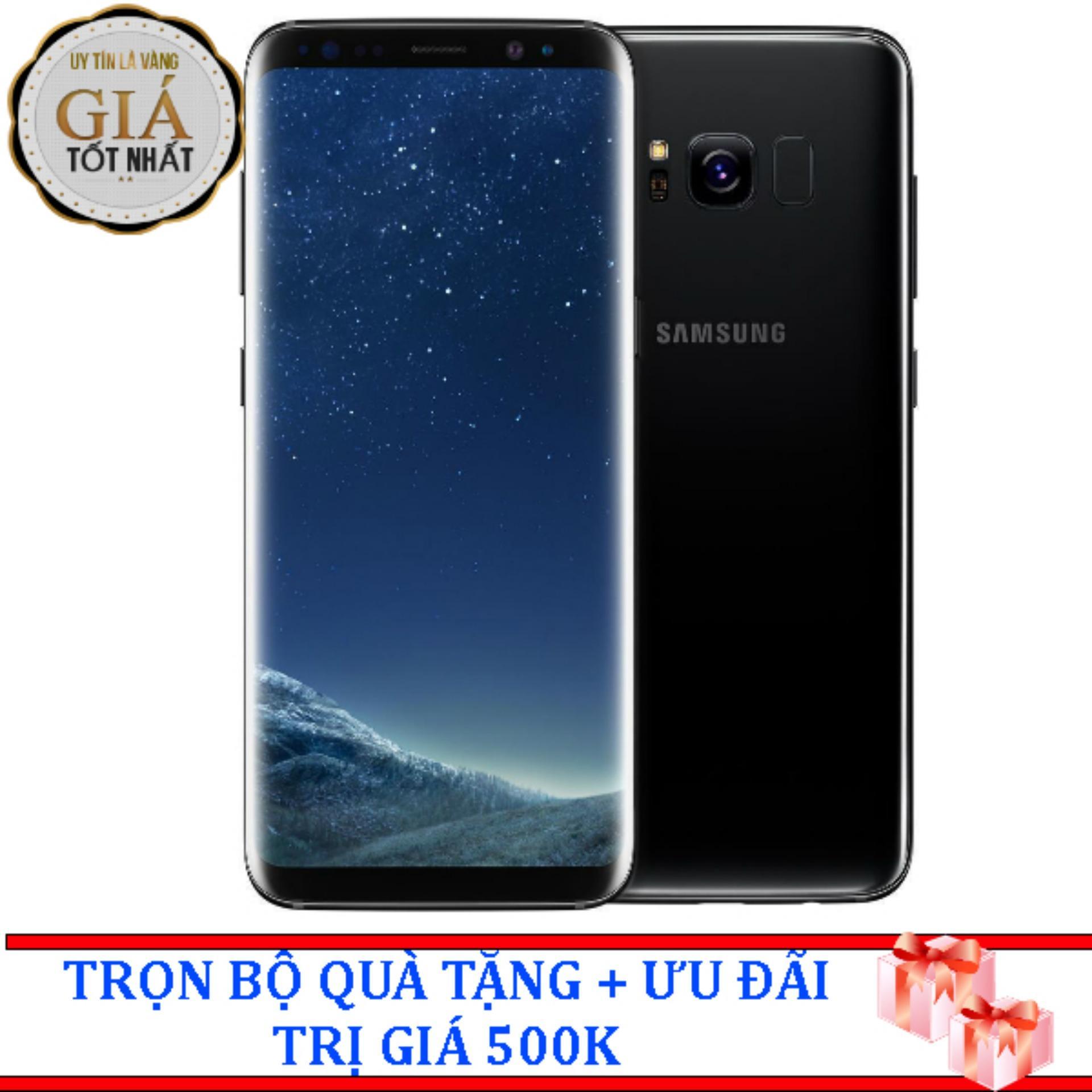 Giá Bán Samsung Galaxy S8 64G Ram 4Gb 5 8Inch Đen Huyền Bi Hang Nhập Khẩu Đen 64Gb Mới Rẻ