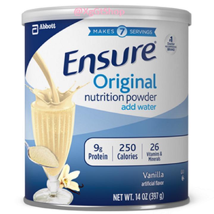 Sữa  Ensure Mỹ 397g ( Ensure Giấy )