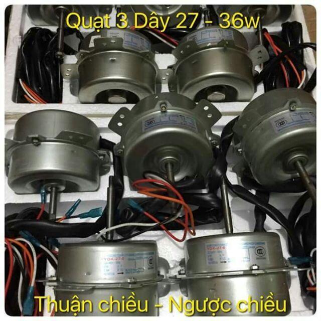 Hình ảnh Quạt Dàn Nóng 3 Dây 27-36W Thuận ChĐiều - Ngược ChĐiều