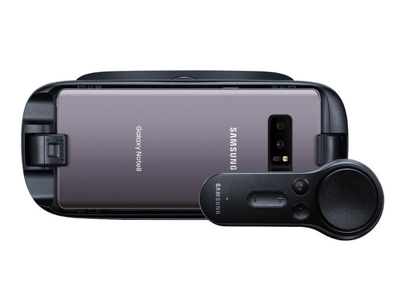 Hình ảnh Kính thực tế ảo Samsung và tay cầm điều khiển Gear VR R325