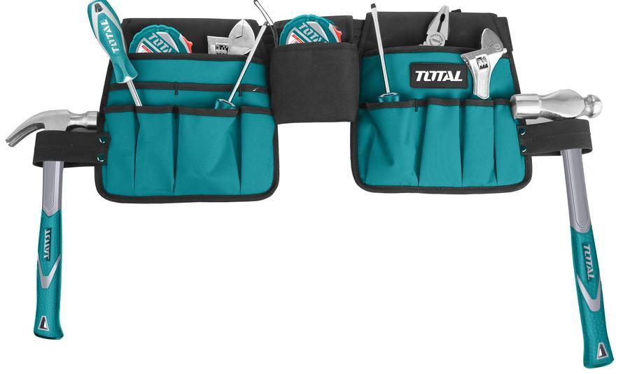 Túi đựng dụng cụ kèm dây đai Total THT16P2031