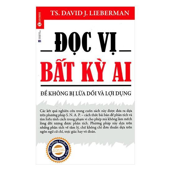 Mua Sách Đọc Vị Bất Kỳ Ai - Để Không Bị Lừa Dối Và Lợi Dụng