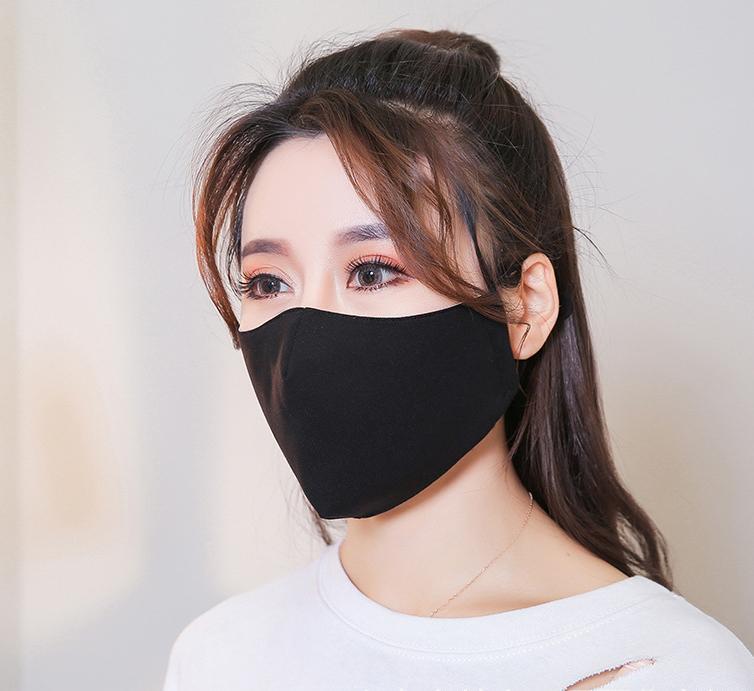 Khẩu trang đen Hàn Quốc V.2