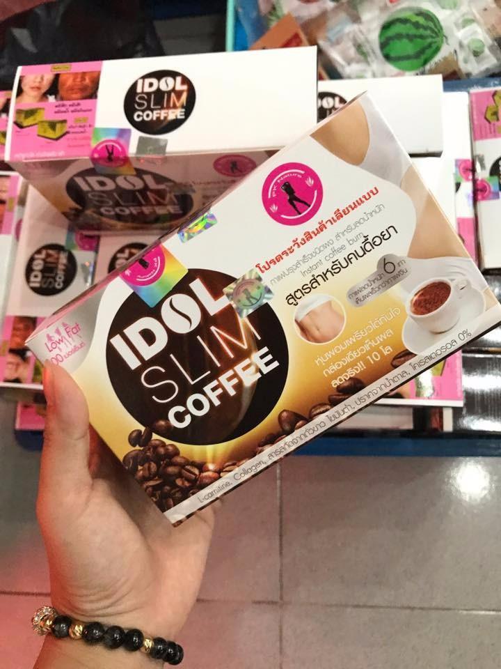 Hình ảnh Cà Phê Giảm Cân Idol Slim Coffee Thái Lan