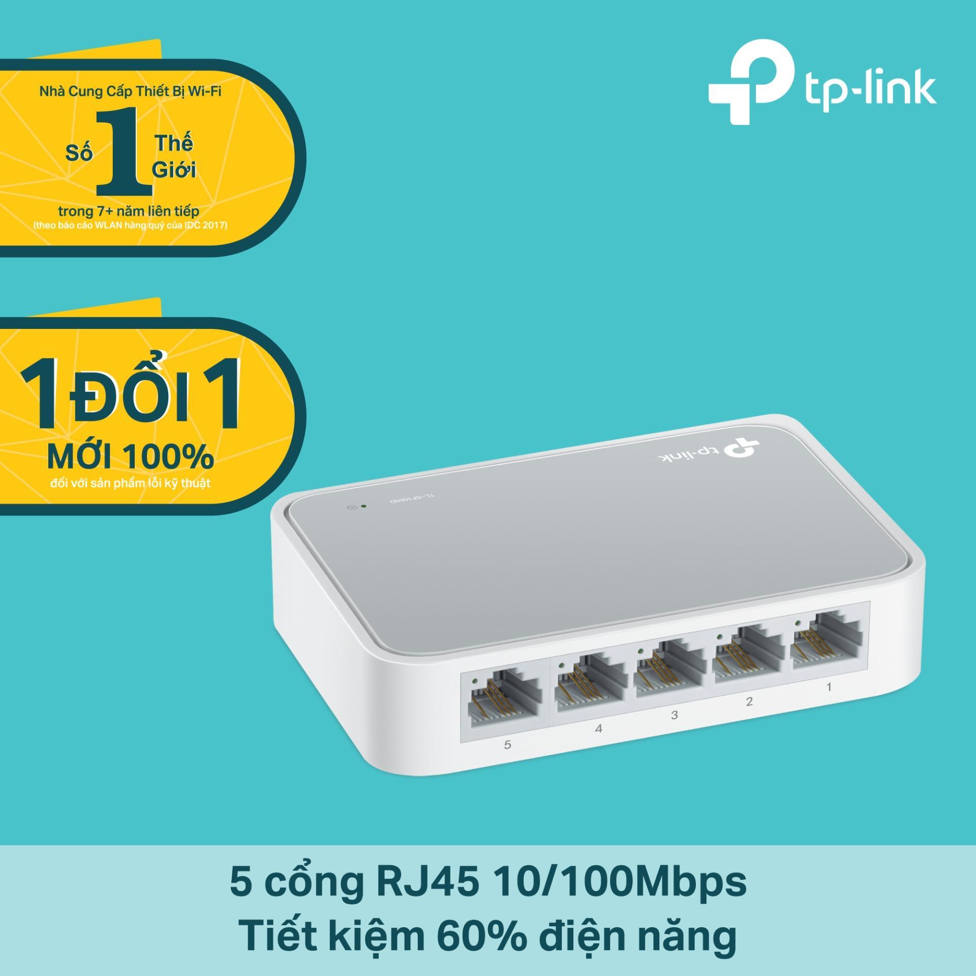 Hình ảnh TP-Link - TL-SF1005D - Switch 10/100Mbps 5 cổng Để bàn-Hãng phân phối chính thức