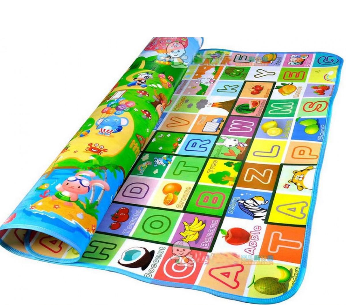 Hình ảnh Thảm chơi 2 mặt loại I cho bé Maboshi 1m8x2m