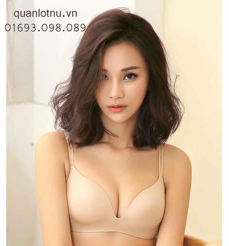 Mua Ao Lot Khong Gọng Mut Mỏng Phom Bản To Om Đẩy Ngực Tự Nhien Mới