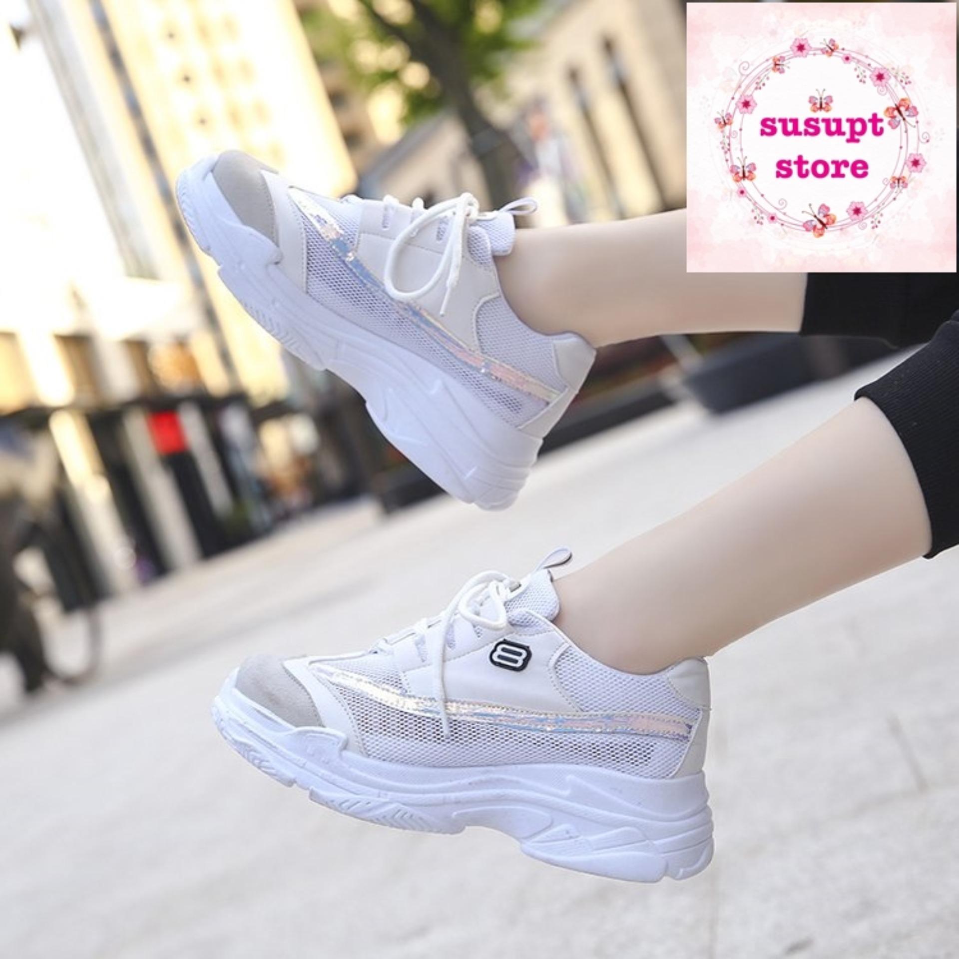 Hình ảnh [susuptstore] giày thể thao đế kép mẫu mới
