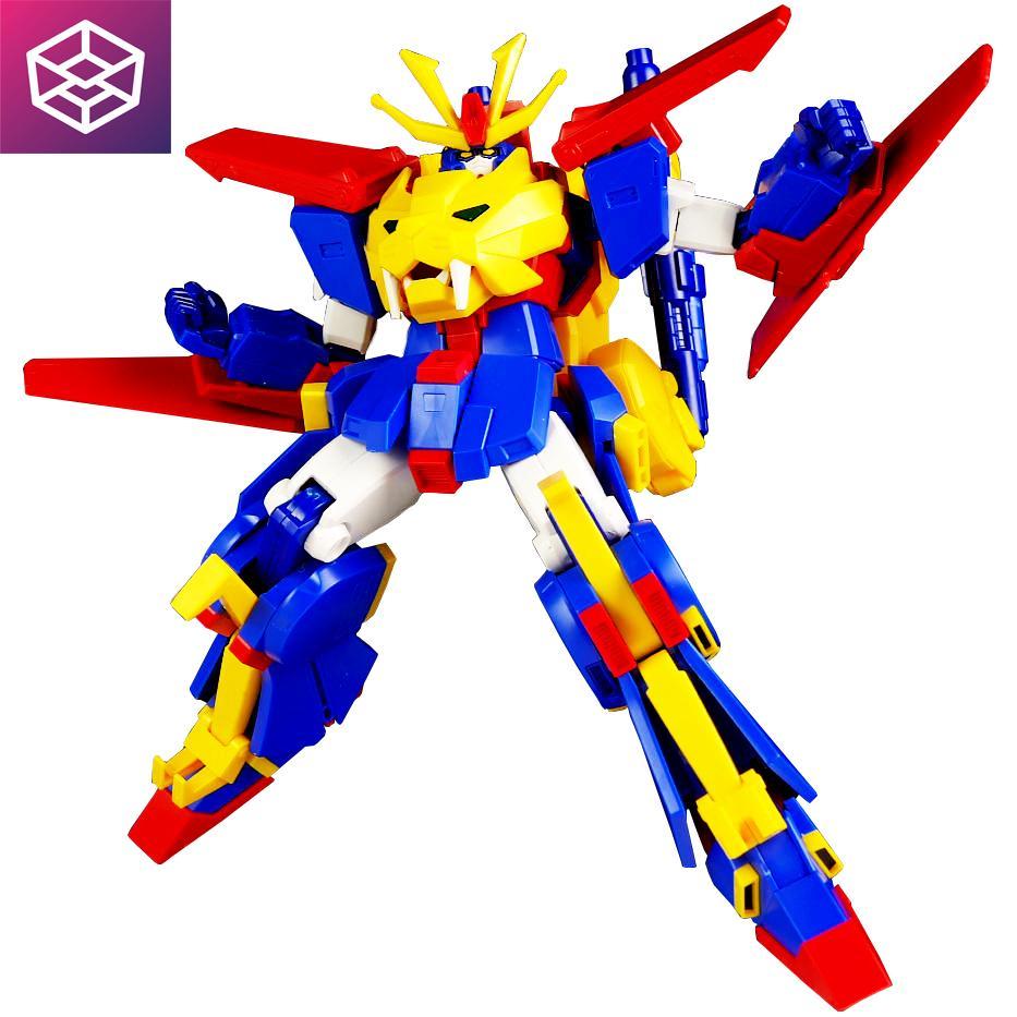 Hình ảnh Mô Hình Lắp Ráp Gundam Bandai HGBF 038 Gundam Tryon 3 [Bandai-HG]