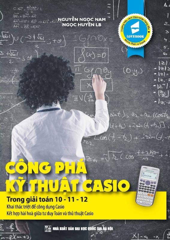 Mua Công Phá Kỹ Thuật Casio Trong Giải Toán 10-11-12