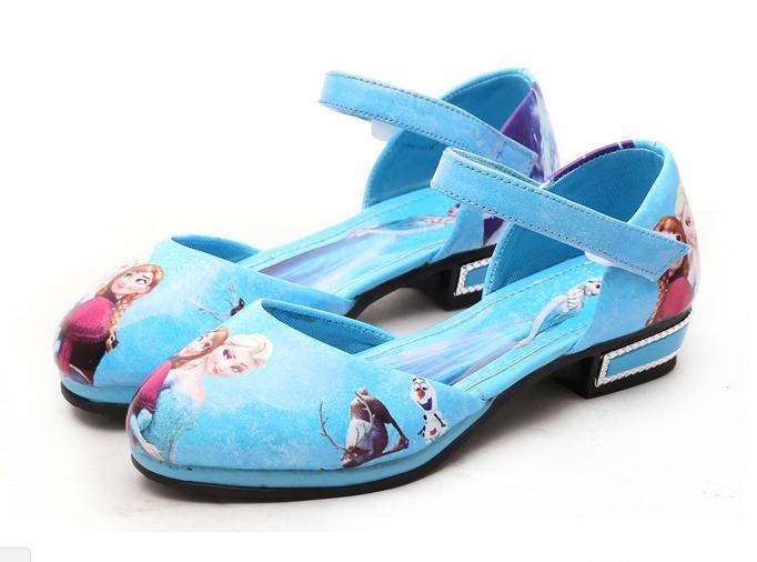 Hình ảnh Giày Elsa cho bé gái hàng đẹp M54