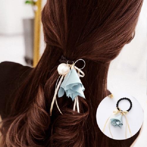 Cột tóc thời trang