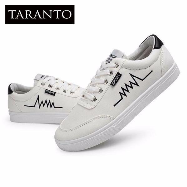 Giá Bán Giay Sneaker Nam Taranto Trt Gttn 04 Tr Mau Trắng Mới