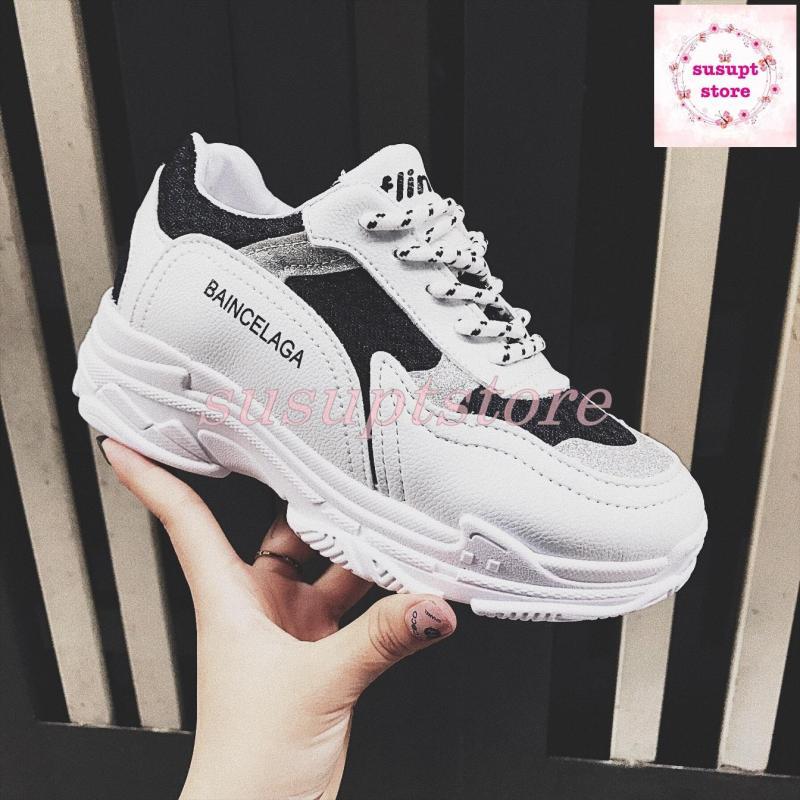 giày thể thao 2 màu mẫu mới 2018 [susuptstore]
