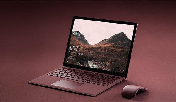 Hình ảnh Surface Laptop Core M RAM 4GB SSD 128G