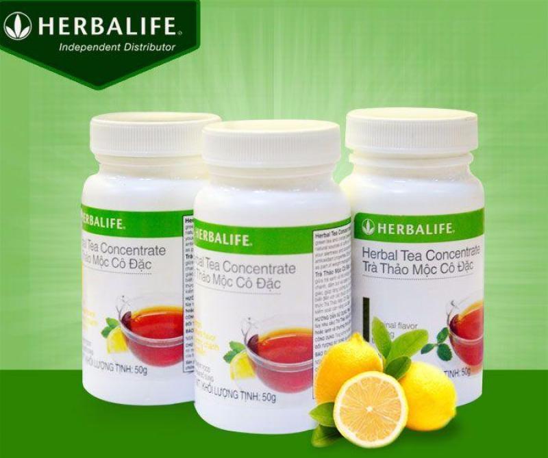 Thực Phẩm Bảo Vệ Sức Khỏe TRÀ GIẢM CÂN TRÀ THẢO MỘC CÔ ĐẶC HƯƠNG VỊ CHANH TỰ NHIÊN HERBALIFE Health Supplement Herbal tea Concentrate - Lemon Natural Flavor (50g)