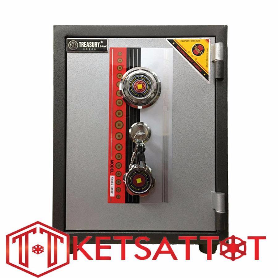 Hình ảnh Két sắt chống cháy Treasury bank KC65 (khóa cơ)