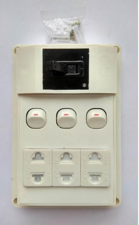 Hình ảnh bảng điện nổi cao cấp taplo O3 + CB - 03CT