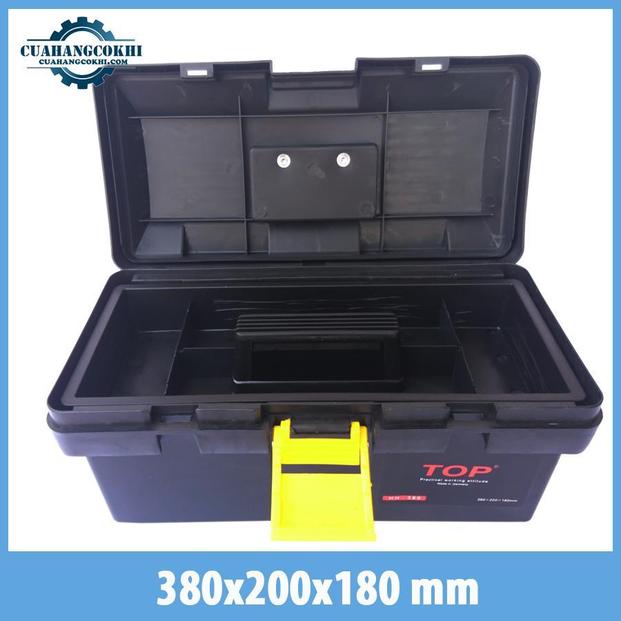Hình ảnh hộp dụng cụ sửa chữa gia đình size nhỏ -hộp dụng cụ đồ nghề nhựa pp siêu cứng