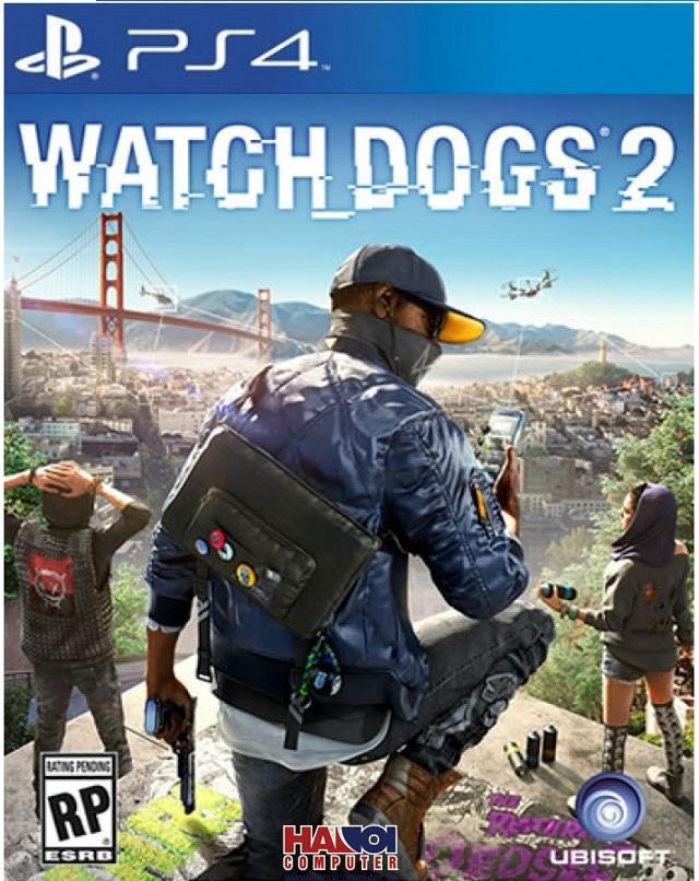 Đĩa Game PS4 Watch Dogs 2 Hệ Asia
