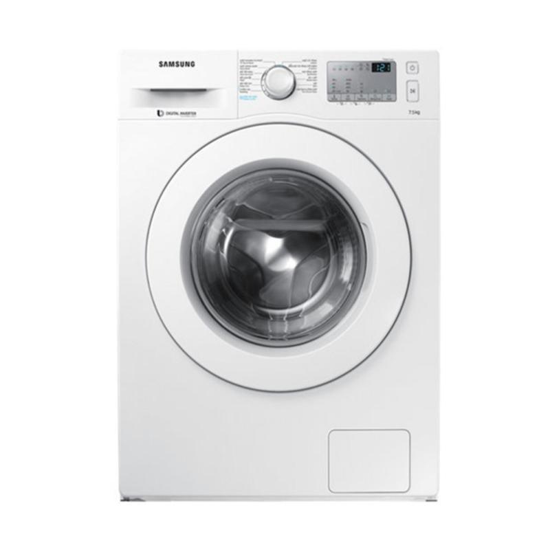 Máy giặt cửa trước hơi nước Samsung Inverter WW75J42G3KW/SV 7.5kg (Trắng)