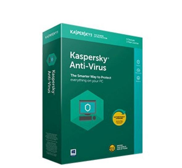 Hình ảnh Phần mềm Kaspersky Antivirus 1 máy tính 2018