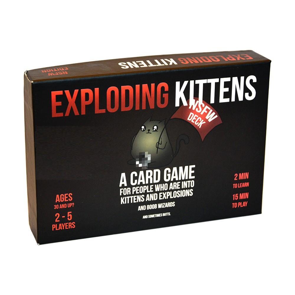 Hình ảnh Bài mèo nổ cảm tử cơ bản Exploding Kittens - Mèo Nổ phiên bản 16+