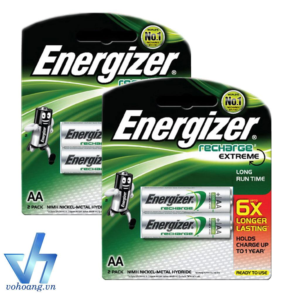 Bán Mua Bộ 4 Pin Sạc Aa Energizer Recharge Extreme 2300Mah Bạc