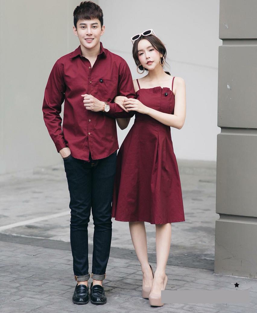Hình ảnh áo váy đôi thiết kế AV165