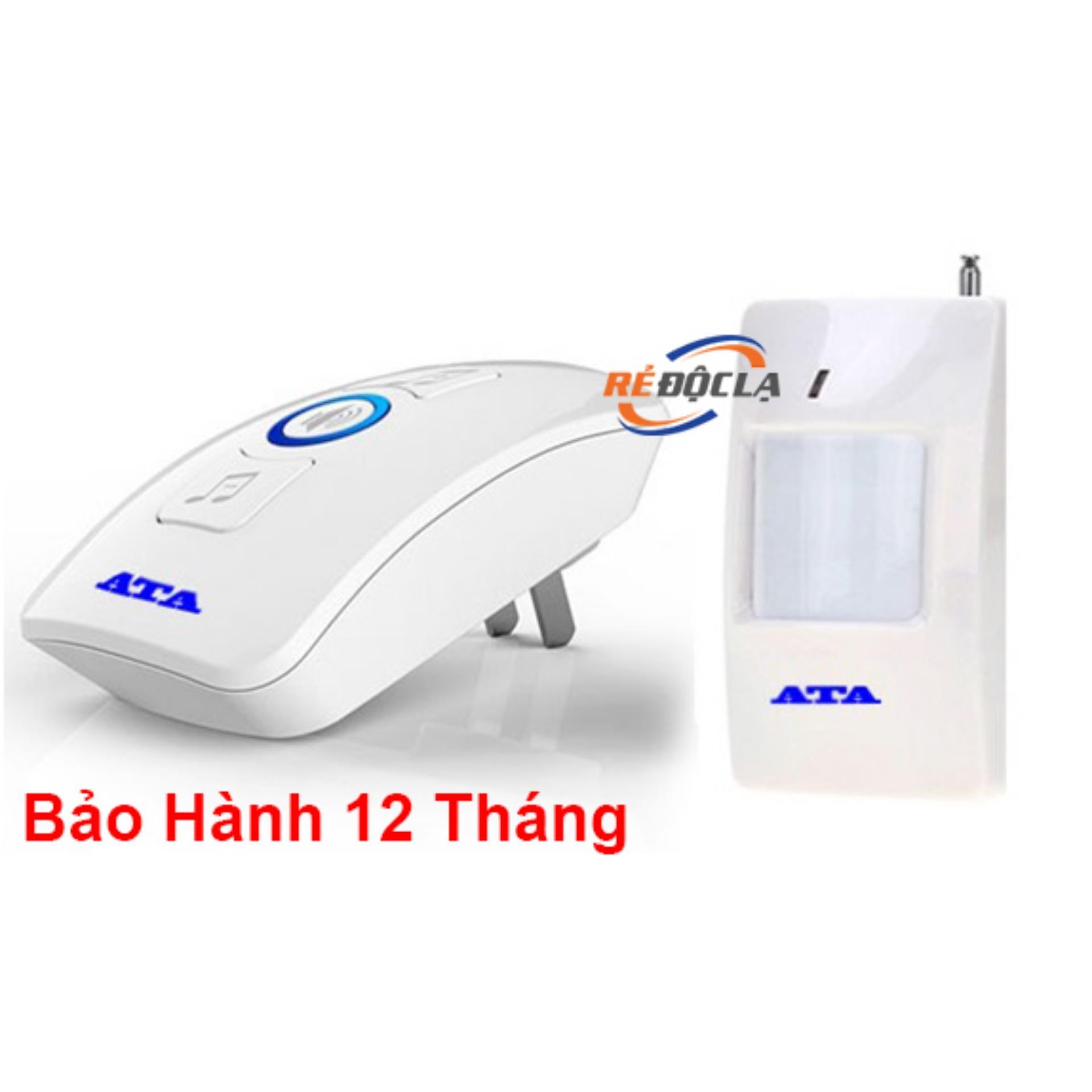 Báo khách báo trộm không dây đa năng ATA AT338- LED SHOP