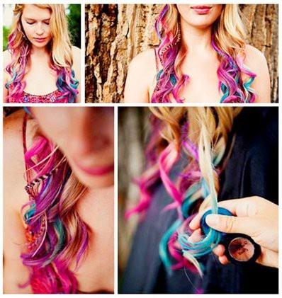 Bộ phấn nhuộm tóc màu Hot Huez 1