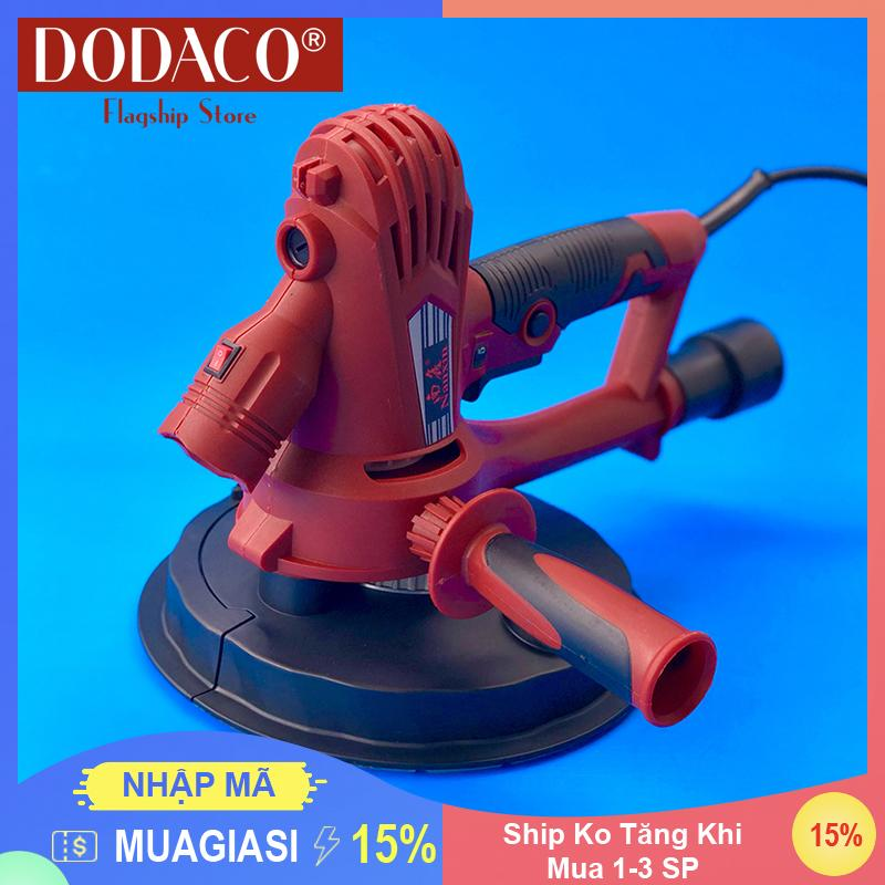[Mua 1-4 SP Ship Không Đổi] - Máy chà tường có đèn DODACO DDC3206 - NANXIN - 180-5 - 1260W - 30 x 25 x 20cm (Đỏ)