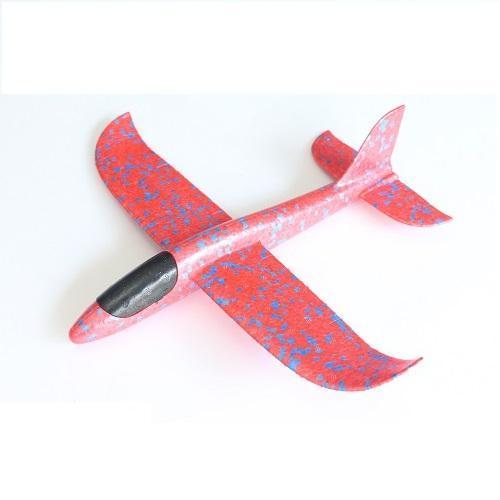Hình ảnh Máy bay Xốp - Máy bay phi tay xốp dẻo chịu lực có 2 bi ở đầu