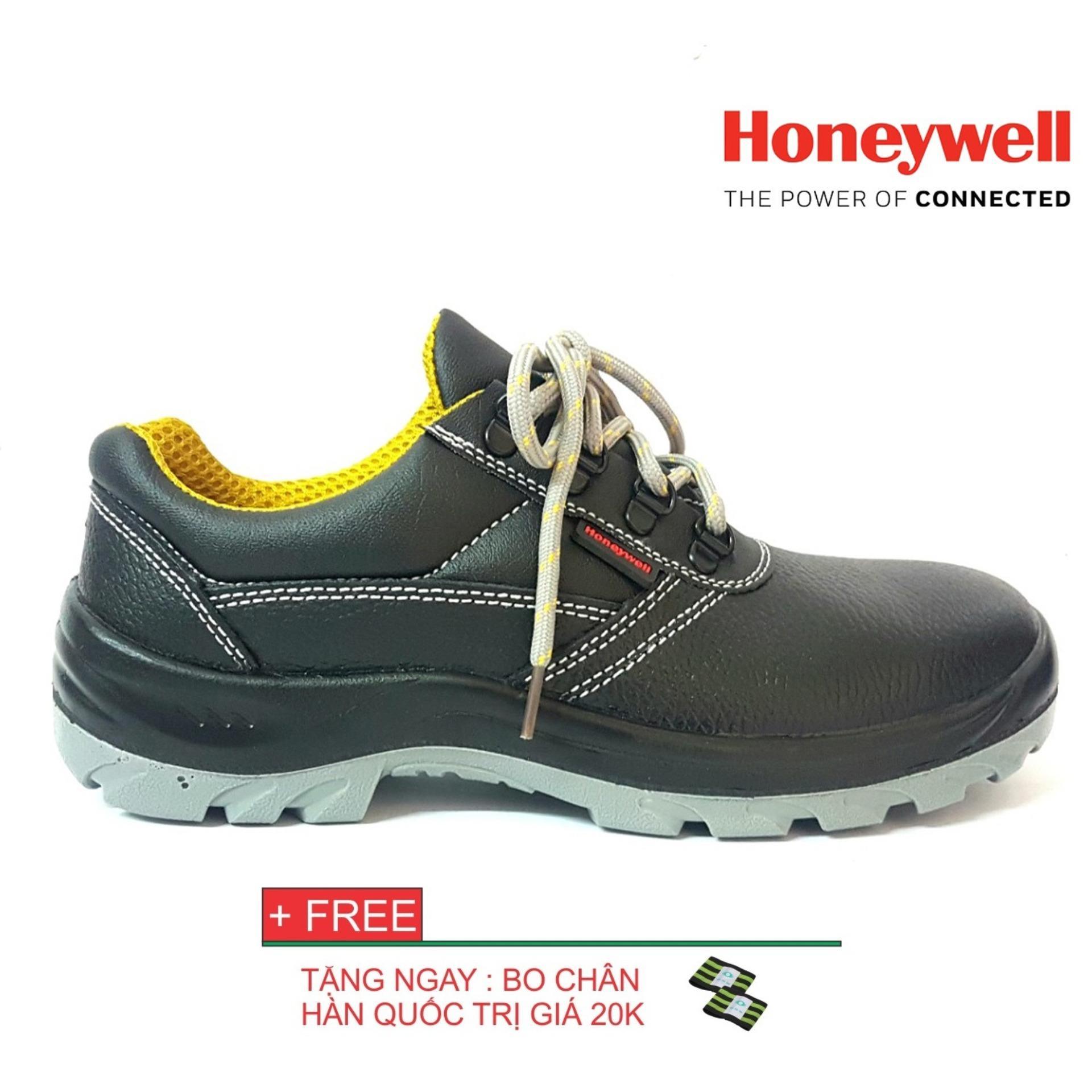 Hình ảnh Giày bảo hộ cao cấp nhập khẩu honeywell thấp cổ size 42 tặng kèm bo chân hàn quốc