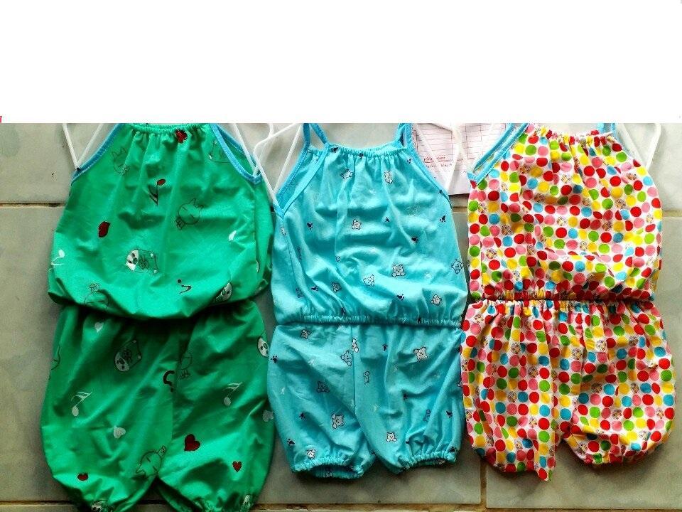 Bộ quần áo bé gái 2 dây bo đùi hàng đẹp mùa hè size 9-13kg