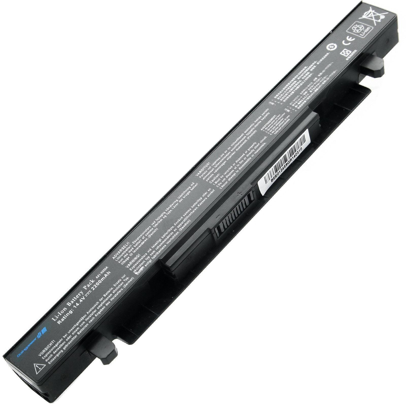 Pin cho Laptop Asus X550 X550C X550CA X550CL X550CC Hàng nhập khẩu bảo hành 12 tháng lỗi 1 đổi 1