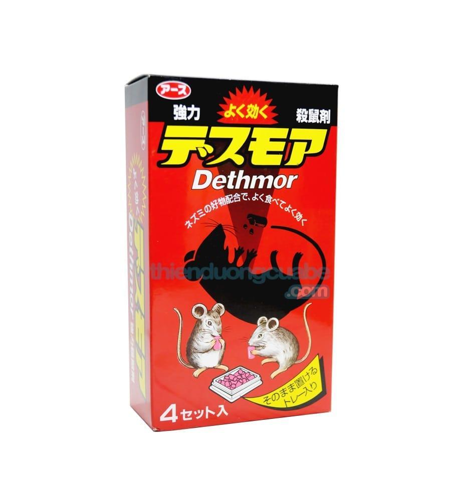 Hình ảnh Thuốc Diệt Chuột Dethmor Nhật Bản Hộp 4 Vỉ