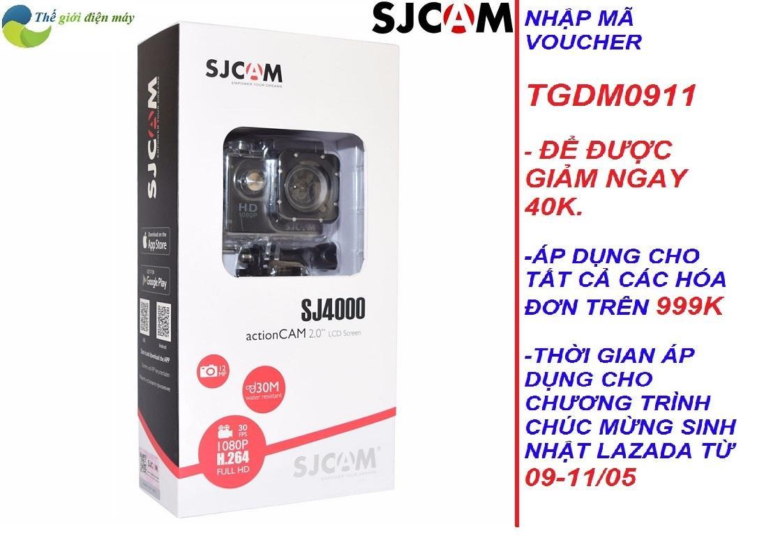 Ôn Tập Camera Hành Trình Sjcam Sj4000 Wifi 2 Inch