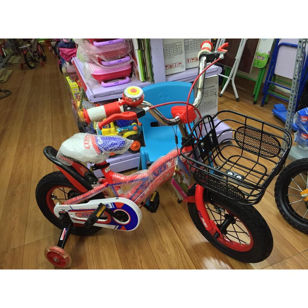 Xe đạp Trẻ em 12 inches Cao cấp (chưa lắp giáp )